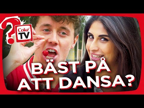 SP4ZIE & ATHENA SVARAR - BÄST PÅ ATT DANSA? | #AskCokeTV