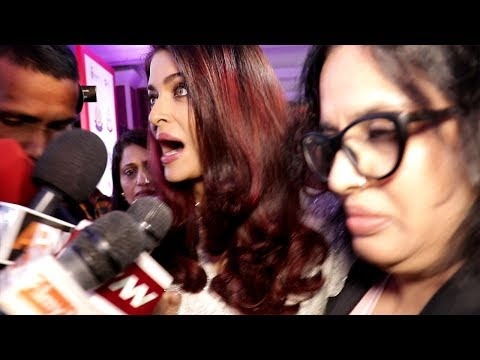 Aishwarya Rai Gets Harassed By Media Publicly At Womens Day Event