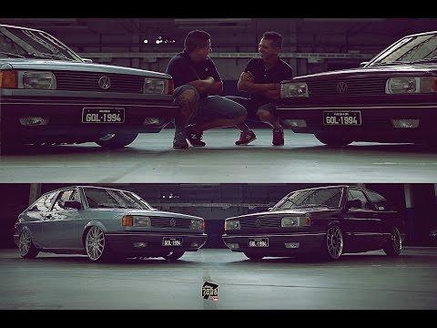 Irmãos Volkswagen - Gol GL e Gol CL 1994 -  Canal 7008Films