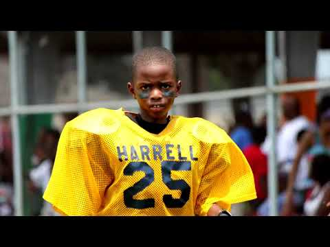 Youth Football, 7&8 Harrell vs Willie Hall Jamboree at Conrad Playground August 20, 2011
