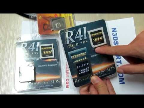 R4I GOLD 3DS Deluxe Edition Sample Review r4ids.cn