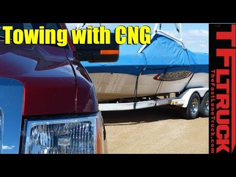 2014 Ford F-150 CNG takes on the IKE Gauntlet Towing TestTwice!