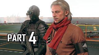 Metal Gear Solid 5 The Phantom Pain Walkthrough Part 4 - Revolver Ocelot Life Tips (PS4 Gameplay)
