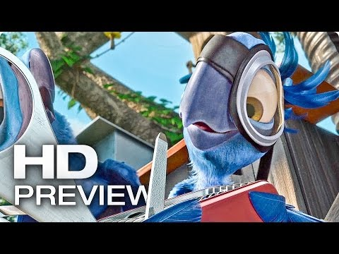 Exklusiv: RIO 2: Dschungelfieber Preview Deutsch German | 2014 Trailer [HD]