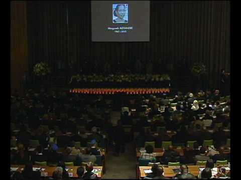 MaximsNewsNetwork: HAITI MEMORIAL TO 101 LOST UNITED NATIONS STAFF (UNTV) (U.N. MINUSTAH)