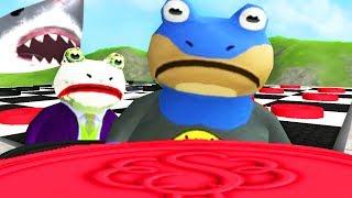 Download Lagu BAT FROG vs JOKE FROG GIANT CHECKERS - LOSER FEEDS GIANT SHARK - Amazing Frog - Part 120 | Pungence Gratis STAFABAND