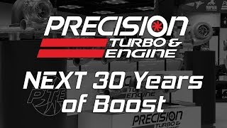 Precision Turbo NEXT 30 Years of Boost Highlights