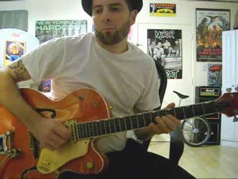 Five Feet Of Lovin' guitar solo Cliff Gallup(Jeff Beck's version)