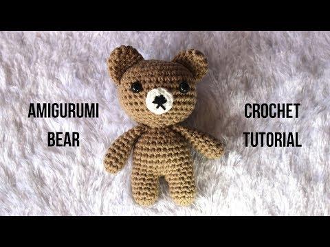 Amigurumi Bear Crochet Tutorial