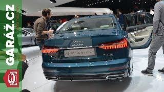 Nové Audi A6 + elektrické SUV - GARÁŽ.cz - Ženeva 2018 Live