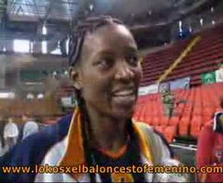 Declaraciones Delisha Milton-Jones. Ros Casares - San José Video