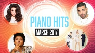 Piano Hits March 2017 (Pandapiano) : 1hr of Relaxing Chart hits for study, meditation...