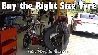 Cost of Living Bangkok Buying New Premium Brand Car Tyres