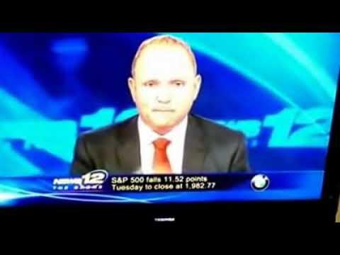 News 12 The Bronx - Matt Pieper / Amy Yensi Blooper - As Ghetto As Ghetto News Gets