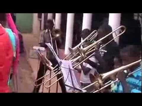 Mbale Schools Band plays march - The Villager