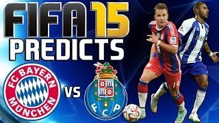 BAYERN MUNICH vs FC PORTO - FIFA 15 Prediction (Highlights) - 21/04/2015