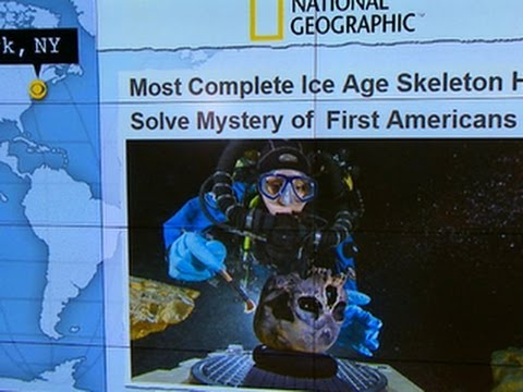 Headlines at 8:30: Archeologists find 12,000-year-old skeleton in Mexico