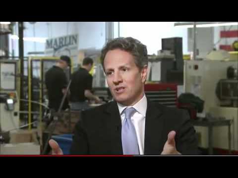 U.S. Treasury Secretary Timothy Geithner tours Marlin Steel 2