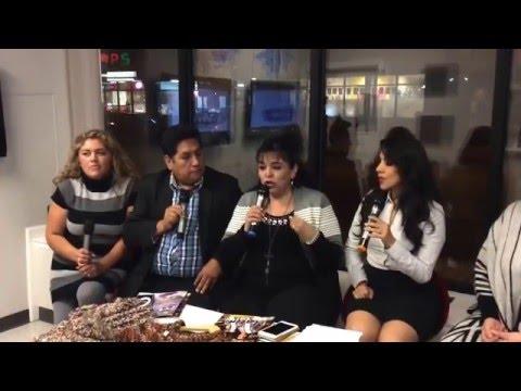 ENTREVISTA en T.V. Radio ! VIVE ! Chicago a Laura Cepeda - Tejiendo con LAURA CEPEDA