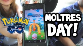 How TOP JAPANESE PLAYERS do *SHINY* MOLTRES DAY in Pokémon GO! (50+ RAIDS!)