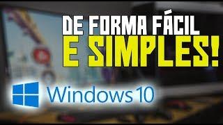 Aprenda à formatar QUALQUER PC OU NOTEBOOK! (Instalando e ativando o Windows 10)