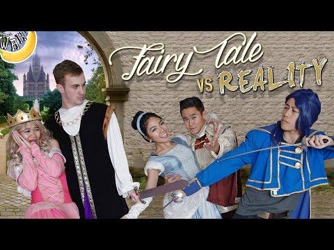 Fairy Tale VS Reality | disney