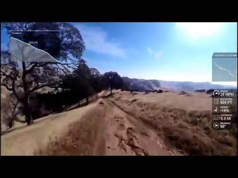 Black Diamond Mines Corcoran Trail Downhill
