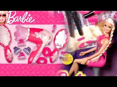 Barbie Hair Tattoo Doll / Barbie Zestaw Fantastyczne Pasemka - Www.MegaDyskont.pl - Sklep
