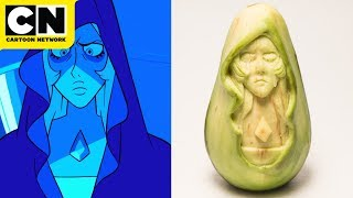 Blue Diamond Avocado Carving | Steven Universe | Cartoon Network