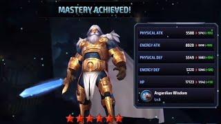 {Marvel Future Fight} Building A God - All Father Odin Borson (1* - 6*)