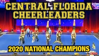 2020 UNIVERSITY OF CENTRAL FLORIDA CHEERLEADERS - NATIONAL CHAMPIONS