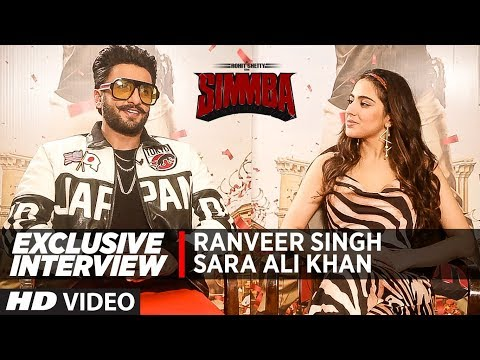 Exclusive Interview: Ranveer Singh, Sara Ali Khan | Simmba
