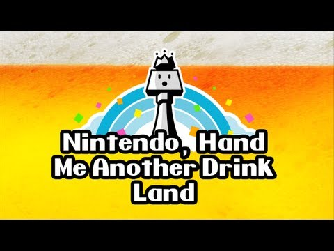 Drinking Games for Gamers - Nintendo, Hand Me Another Drink Land