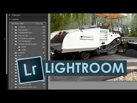 Tutorial Lightroom Italiano – LE RACCOLTE parte prima