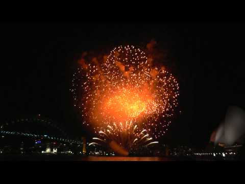 Sydney welcomes Savannah Guthrie (NBC Today Show) with Fireworks