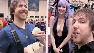 I GOT NEPPED AND JELLY FILLED DONUTS - MCM London Vlog