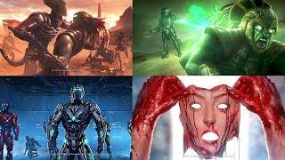 Mortal Kombat X Todos los Finales de Personajes (Español Latino)