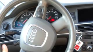 2006 Audi A6 Key Stuck in Ignition Part 1. Solution in description.