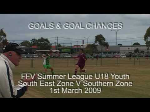 FFV Victorian Champions League U18 SE V Southern Goals & Goal Chances