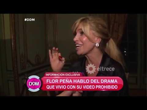 Florencia Peña habló tras ser catalogada como actriz porno