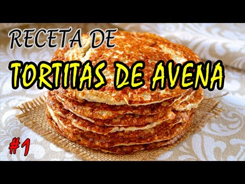 Receta Fitness - Tortitas de Avena