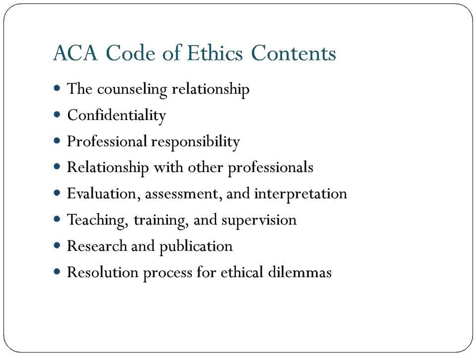 essays on ethical issues in counseling