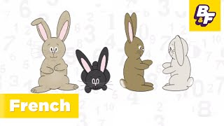 """""""Numbers in French"""" - les chiffres - Kids Music in French - Learn French with BASHO & FRIENDS!"""