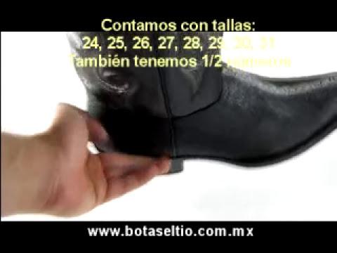 Botas Mantarraya Clonada Horma Juarez - Botas El Tio -
