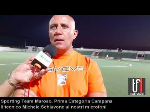 Sporting Team Maroso. Prima campana: Michele Schiavone presenta i suoi acquisti