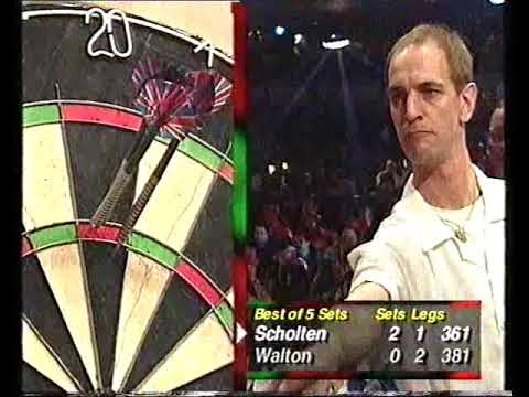 Walton vs Scholten Darts World Championship 1999 Round 1