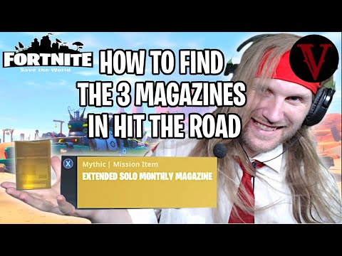 The Limited Edition Hit the Road Quest Walkthrough | Fortnite Save the World | TeamVASH