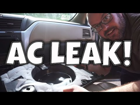 CHEVY TRAVERSE WATER LEAK: HOW TO REPAIR A CLOGGED AC DRAIN