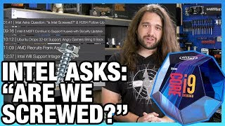 "HW News - Intel Asks: ""Is Intel Screwed?"", DisplayPort 2.0 & 16K Monitor Support"