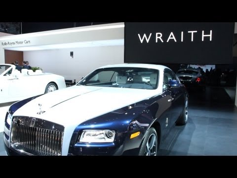 New York Auto Show 2013: V12 Rolls Royce Wraith Combines Power And Luxury